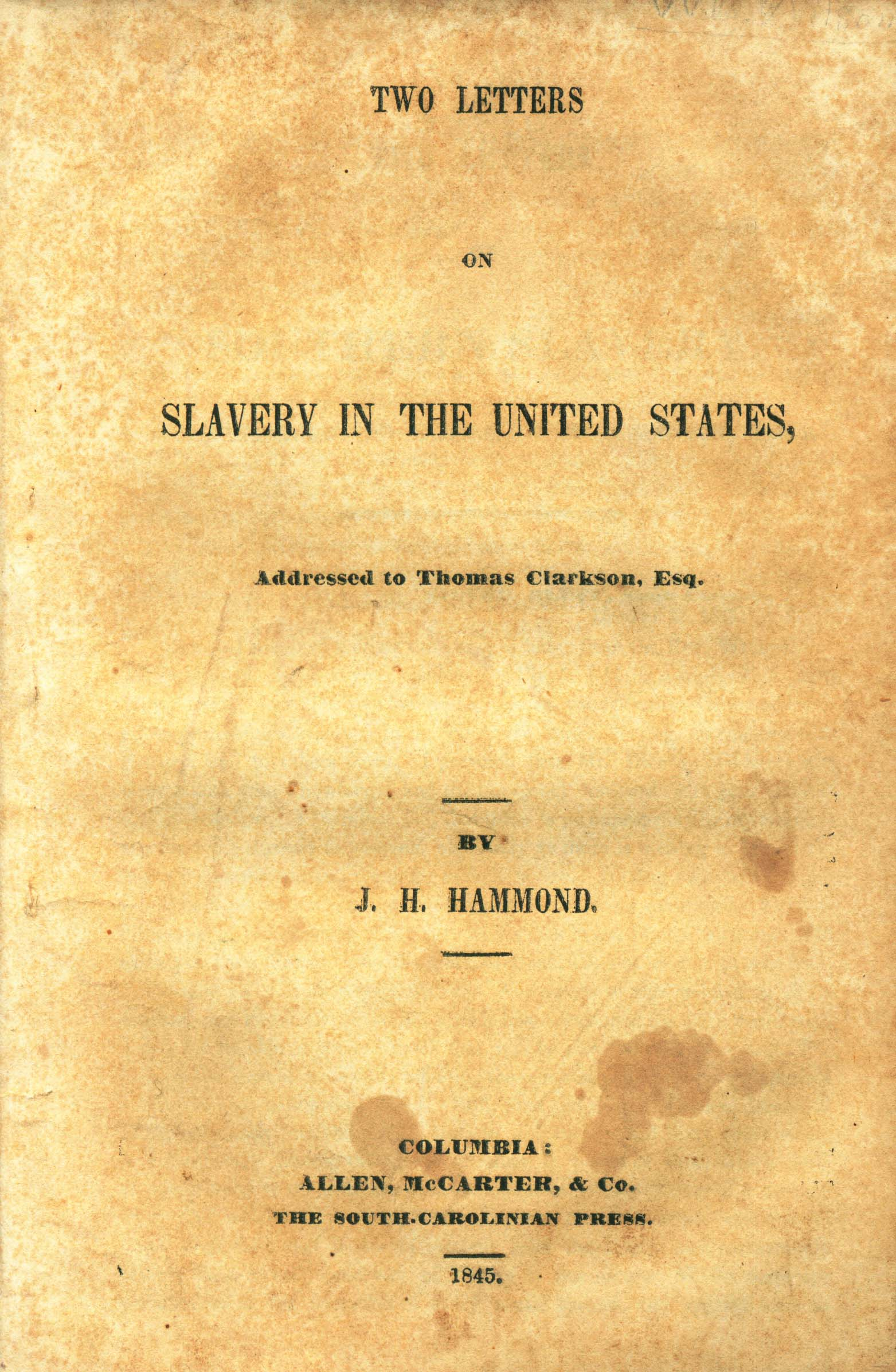 an introduction to the history of slavery in the united states