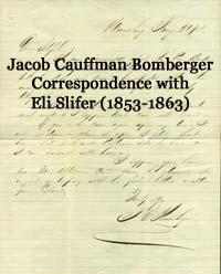 Jacob C Bomberger